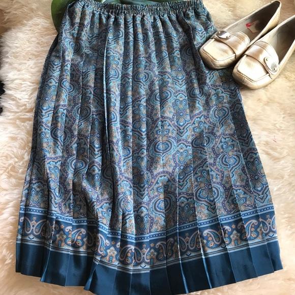 Vintage Dresses & Skirts - Pleated skirt Retro⭐️